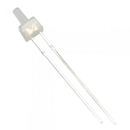 LED 2mm Blanche 400 MCD (x10)