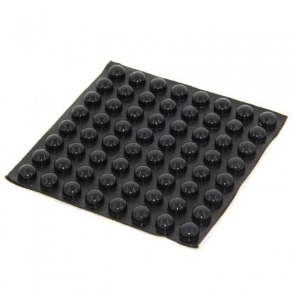 Pieds Caoutchouc amortissant 10x5mm (Set x4)