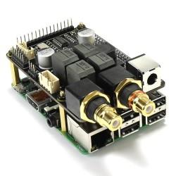 AUDIOPHONICS I-SABRE AMP DAC ES9023 / Amplificateur Class D 2x30W