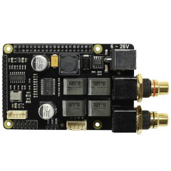 AUDIOPHONICS I-SABRE AMP DAC ES9023 / Class D Amplifier 2x30W TPA3118 for Raspberry Pi