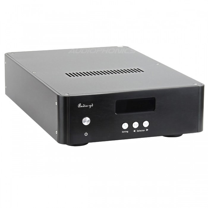 AUDIO-GD NFB-1.38 DAC ES9038Pro DSD/DXD Sabre 32bit / 384K USB Amanero HDMI TCXO
