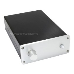 DIY aluminium preamplifier case with on/off switch 300x190x70mm Silver