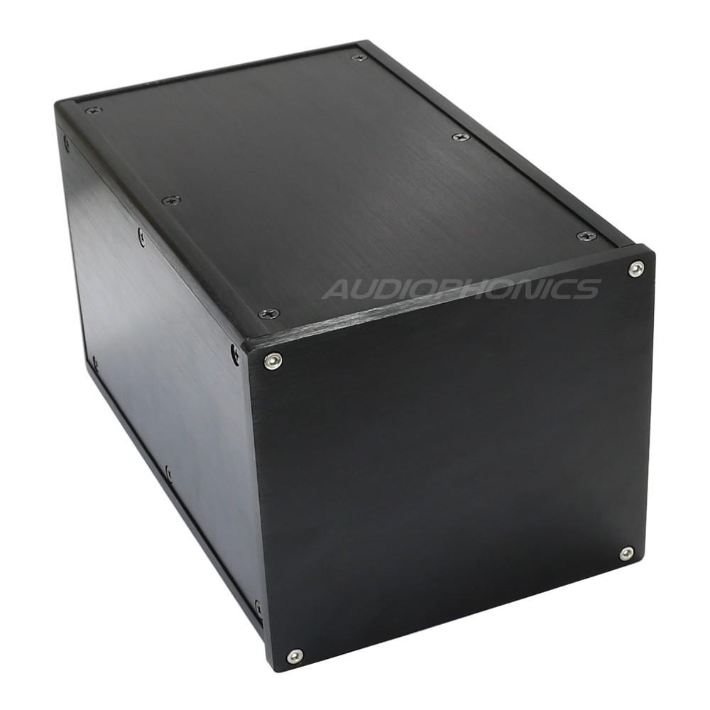 Boîtier DIY 100% Aluminium 251x161x140mm