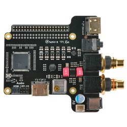 ST4000 DAC ES9018K2M HDMI I2S TCXO 32Bit / 384kHz DSD256 for Raspberry Pi