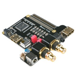 ST4000 DAC ES9018K2M HDMI I2S TCXO 32Bit / 384kHz DSD256 pour Raspberry Pi