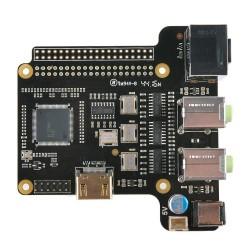 ST6000K DAC ES9023x4 HDMI 24Bit / 192kHz 8CH pour Raspberry Pi