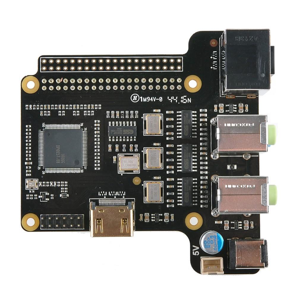 ST6000K DAC ES9023x4 HDMI 24Bit / 192kHz 4X 2CH for Raspberry Pi