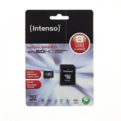 Carte mémoire micro SD CARD HC Haute performance 8GB