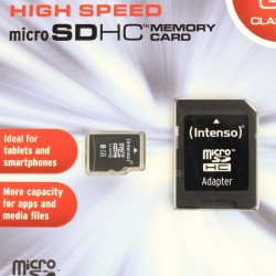 SANDISK Ultra micro SD HC Memory Card 8GB