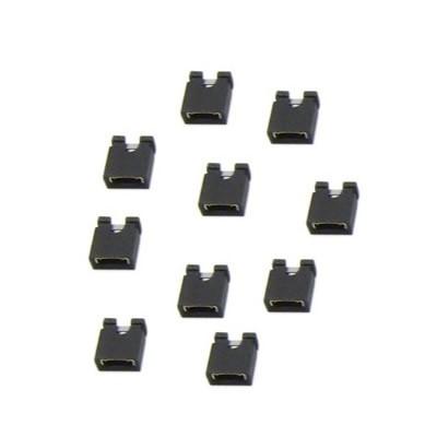 Jumpers de liaison 2.54mm pour DAC DIY ou Audio-GD (x10)