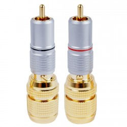 ELECAUDIO RC-1450 RCA Connector Gold Plated Ø14.5mm (Pair)