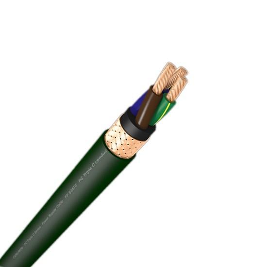 FURUTECH FP-TCS31 Câble secteur Alpha OFC Haute pureté blindé 3x2.5mm² Ø 16mm