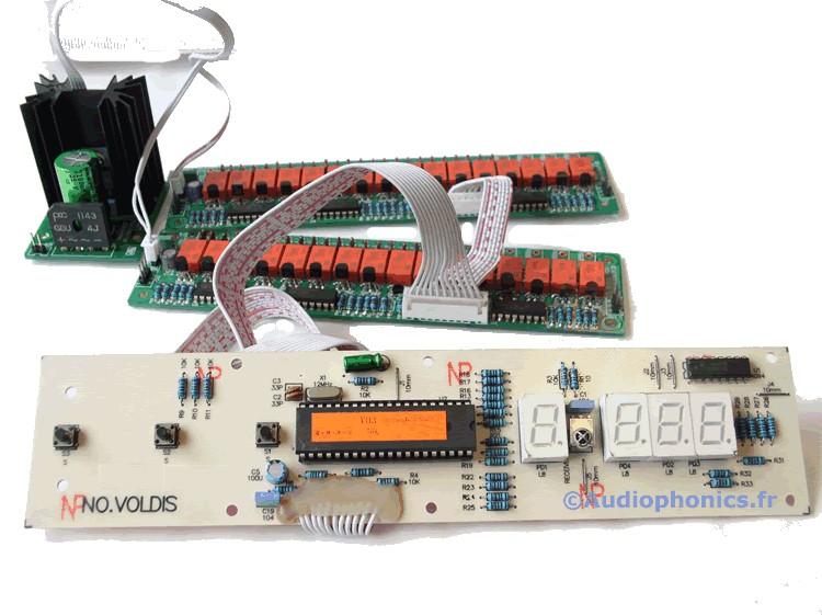 """LITE V03 - Module contrôle de volume à commutation """"Asymétrique"""""""
