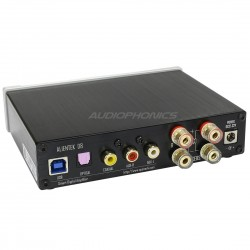 ALIENTEK D8 Amplificateur numérique FDA XMOS Class D 2x 50W / 8 Ohm Argent