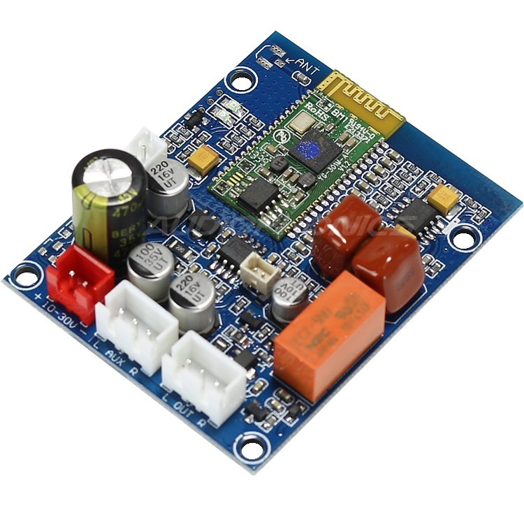 Bluetooth 4.0 EDR 2.0 Audio Receiver Board Wireless Music Stereo Microphone DIY