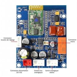 Module récepteur Bluetooth 4.0 EDR sortie Stéréo RCA DIY