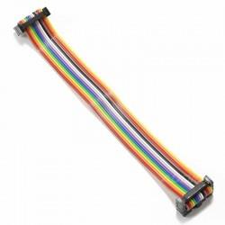 Nappe d'extension circuit imprimé Femelle / Femelle 14 PIN 15cm