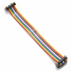 Printed circuit board Extender cable Female / Female 14 PIN 15cm