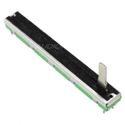 Potentiomètre linéaire glissière stéréo 60mm 10KOhm