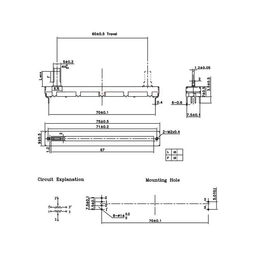 linear potentiometer wiring slide potentiometer linear go wiring Switch to Potentiometer Wiring-Diagram