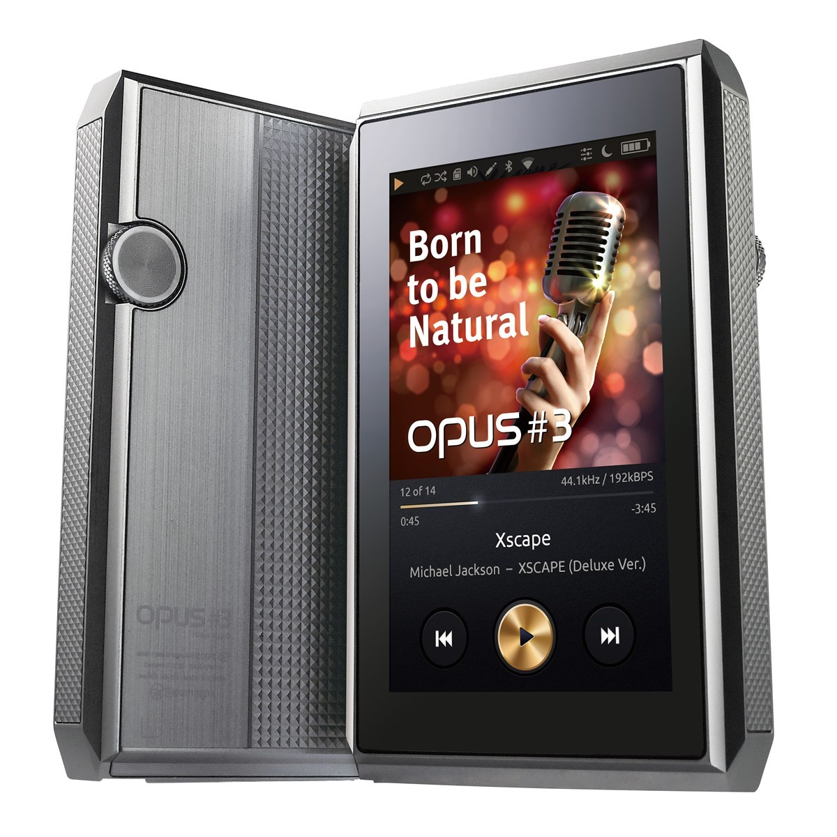 OPUS 3 Digital Audio Player DAC PCM1792A 24Bit / 192kHz DSD256 WiFi Balanced