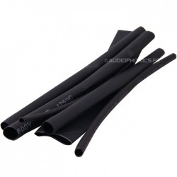 Pack x7 Heat-shrink tubing 3:1 Ø3.2-15.7mm Black (500mm)