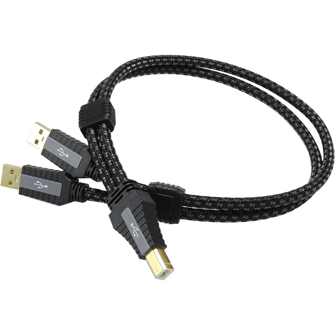 PANGEA PREMIER XL Câble USB-A Mâle / USB-B Mâle 2.0 Cardas Copper plaqué Or 0.5m