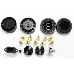 Lite Audio Pre A28 Black Boitier pour Amplificateur et Sélécteur