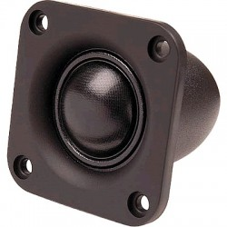 HiVi TN25 Speaker Driver Dome Tweeter Shielded 15W 5 Ohm 90dB Ø2.5cm