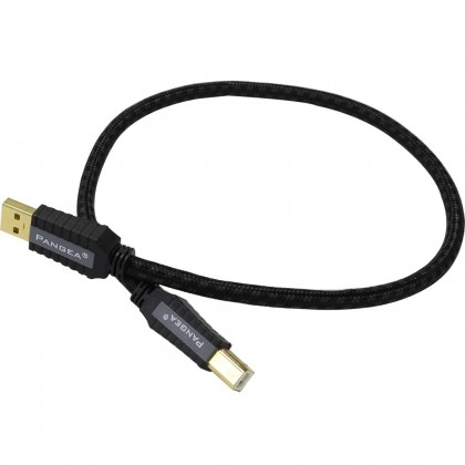 PANGEA Premier SE Cable USB-A Male/USB-B Male 2.0 Gold plated Cardas Copper 1.5m