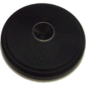 PERFECT SOUND Contrepointes Métal 30x7.5mm Noir (Set x8)