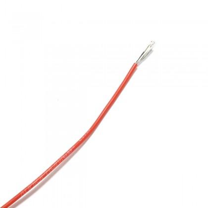Câble Mono-conducteur multibrin silicone 0.33 mm² (rouge)