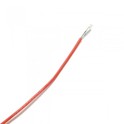 Mono-conductor silicon cable 0.33 mm² (red)