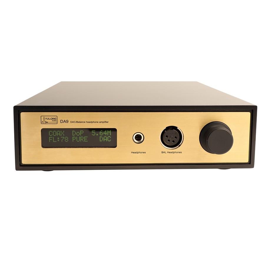 YULONG Audio DA9 DAC / Headphone ampli 32bit/384kHz AK4497EQ DSD Class A Black