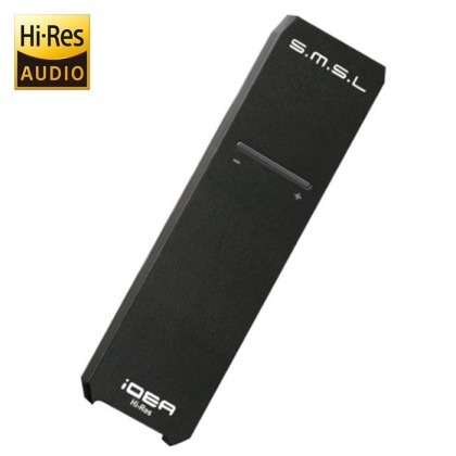 SMSL iDEA DAC USB Amplificateur casque XMOS U208 ES9018Q2C DSD512 Noir