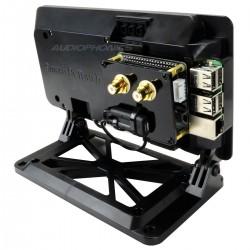 RaspTouch LTE Lecteur Open Source DAC ES9023 / Raspberry Pi 3 Noir