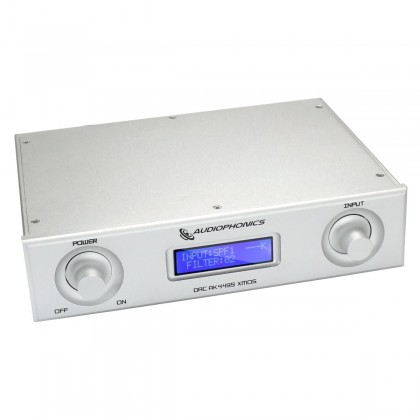 AUDIOPHONICS DAC AK4495SEQ USB 32bit 384kHz Asynchrone XMOS