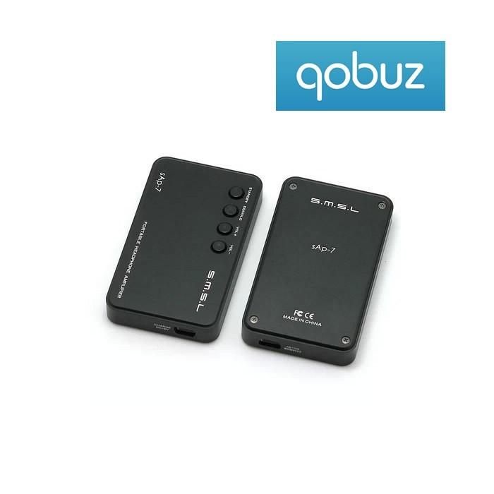 SMSL sAp-7 Portable Headphone Amplifier 150mW / 16 Ohms