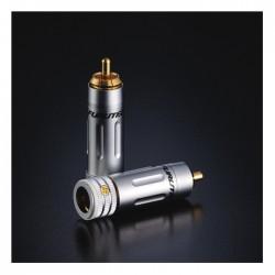 FURUTECH FP-160 (G) Connecteurs RCA plaqué Or 24k Ø 9mm (La paire)