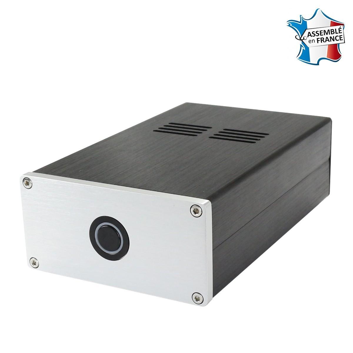 AUDIOPHONICS RASPDAC LTE ST4000 Streamer Raspberry Pi 3 B+ & DAC ES9018K2M