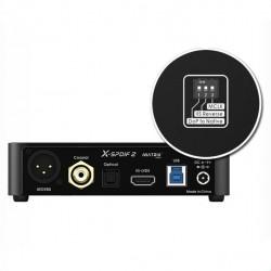 MATRIX X-SPDIF 2 Interface USB 32bit/768khz Coaxial-AES/EBU