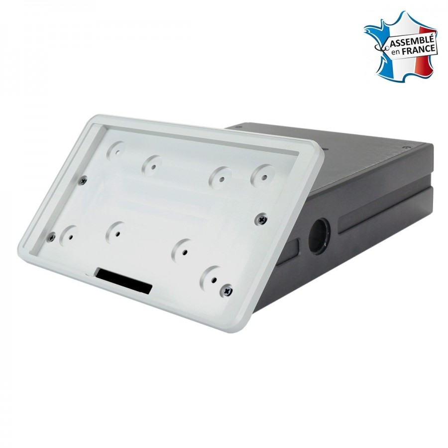 Rasptouch kit diy ch ssis aluminium et accessoires argent for Chassis aluminium
