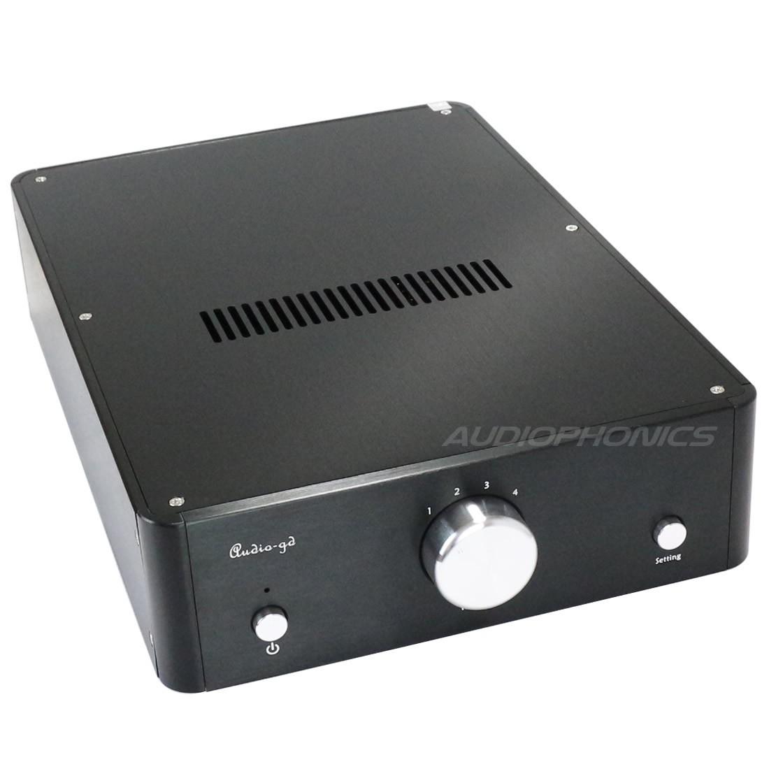 AUDIO-GD SINGULARITY 19 NEUTRAL DAC R2R 4x DA-M1 32Bit / 384KHz USB AMANERO