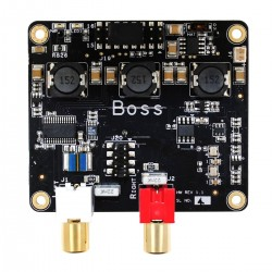 ALLO BOSS DAC PCM5122 32Bit / 384kHz with 2 clocks Master Clock I2S
