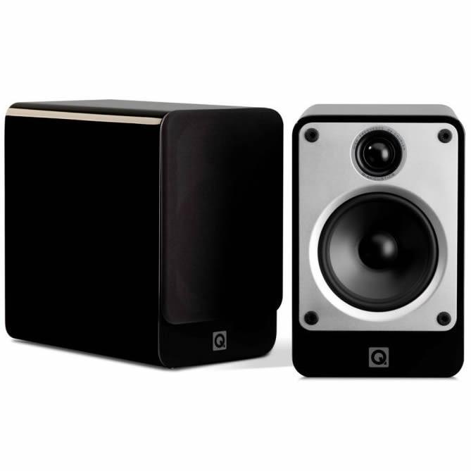Q acoustics Concept 20 Bookshelf Speakers Black (Pair)