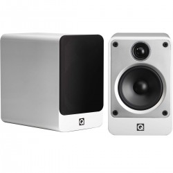Q acoustics Concept 20 Bookshelf Speakers White (Pair)