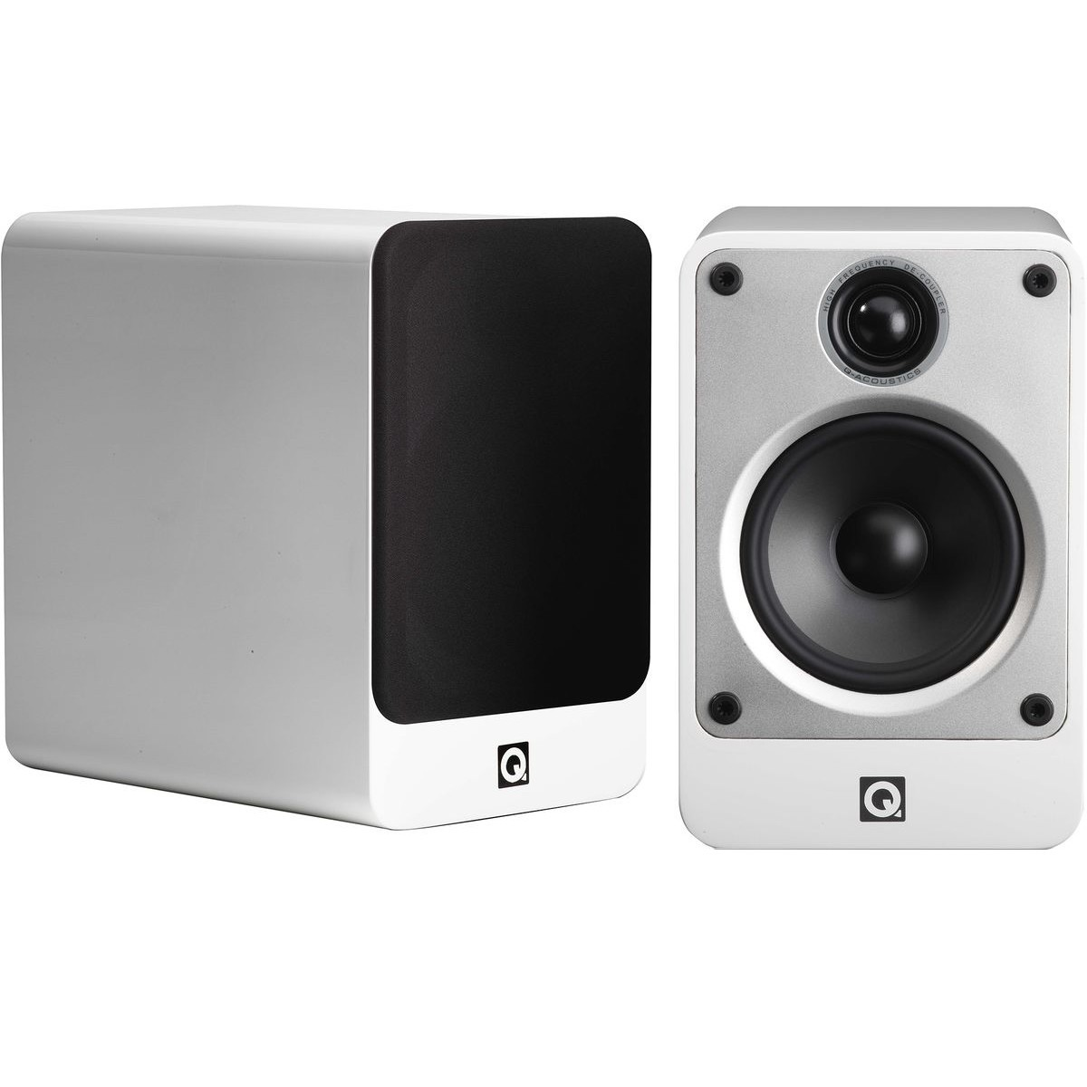 Q acoustics Concept 20 Enceintes bibliothèque Blanc (La paire)