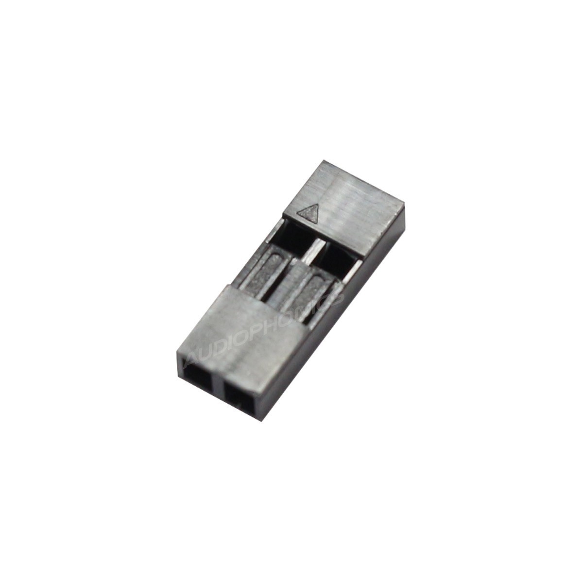 AMP 2.54mm Female Casing 2 Channels Gray (x5)
