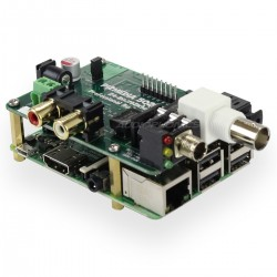 PI 2 DESIGN 502DAC Interface digitale AES/EBU / DAC PCM5122 24Bit / 192kHz