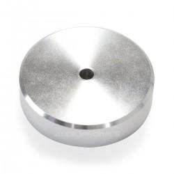 Pied Aluminium 40x16mm Argent (Unité)